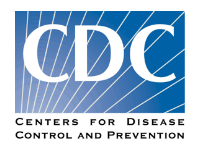 Center for Disease Control and Prevention COVID-19 Update